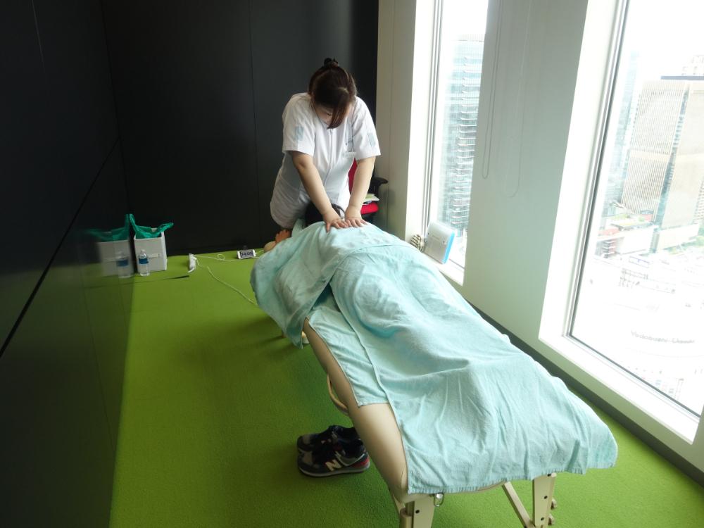 エイチーム大阪救護室
